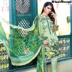 Chantilly De Lace Mid Summer Gul Ahmed Dresses 2016 5