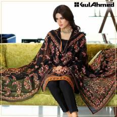 Embroidered Chiffon Pret Eid Dresses Gul Ahmed 2016 5