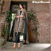 Embroidered Chiffon Pret Eid Dresses Gul Ahmed 2016 7