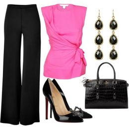 Flared Trousers For Women Polyvore Combos For Autumn 2