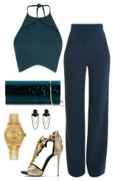 Flared Trousers For Women Polyvore Combos For Autumn 7