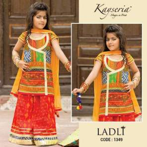Kayseria Eid Kids Wear Little Girls Dresses 2016 2