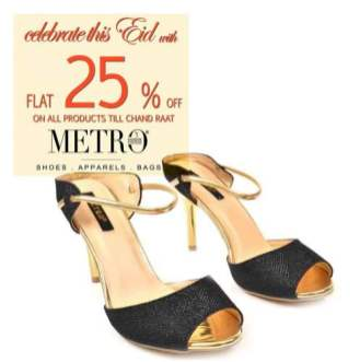 Metro Shoes Eid Footwear For Women 2016