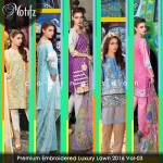 Motifz Embroidered Autumn Lawn Fancy Dresses 2016 5