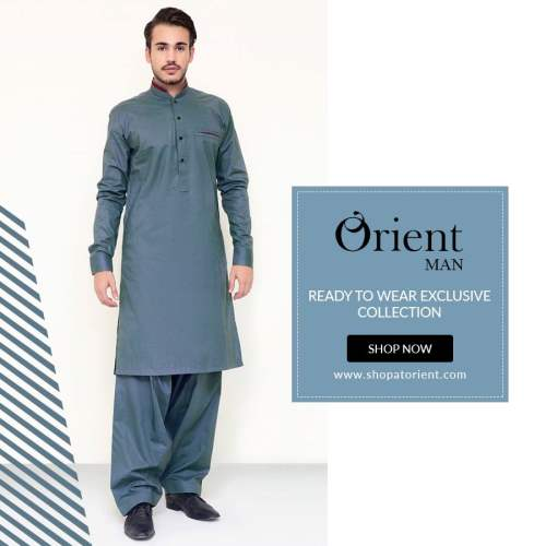 Orient Man Ready To Wear Shalwar Kameez 2016