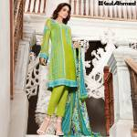 Trencia Satin Silk Eid Collection Gul Ahmed 2016 3