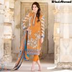 Trencia Satin Silk Eid Collection Gul Ahmed 2016 4