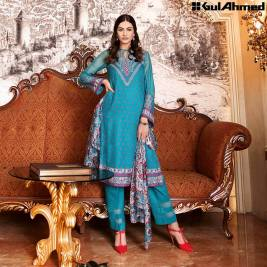 Trencia Satin Silk Eid Collection Gul Ahmed 2016 7