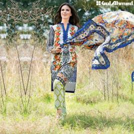 Trencia Satin Silk Eid Collection Gul Ahmed 2016 8