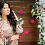 Zainab Hassan Formal Wear Summer End Dresses 2016