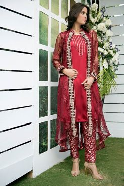 Zainab Hassan Formal Wear Summer End Dresses 2016 4