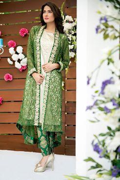 Zainab Hassan Formal Wear Summer End Dresses 2016 5