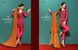 Asim Jofa Luxury Embroidered Chiffon Dresses 2016-17 15