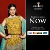Asim Jofa Luxury Embroidered Chiffon Dresses 2016-17 2