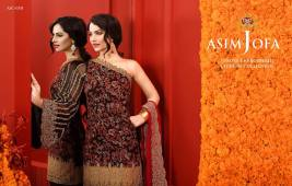 Asim Jofa Luxury Embroidered Chiffon Dresses 2016-17 6