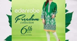 Edenrobe Independence Day Kurti