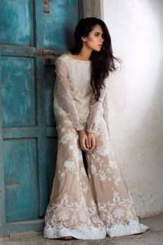 Nida Azwer Festive Season Collection Fancy Dresses 2016-17