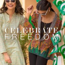 Nishat Linen Liberation Collection Independence Day Dresses 4