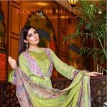 Noor Premium Embroidered Chiffon Dresses 2016-17 2