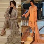 Noor Premium Embroidered Chiffon Dresses 2016-17 4