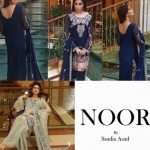 Noor Premium Embroidered Chiffon Dresses 2016-17 5