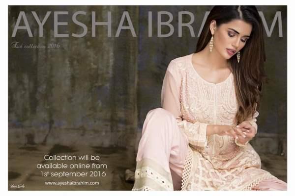 Ayesha Ibrahim Eid Ul Azha Dresses Festive Season Collection 2016 2
