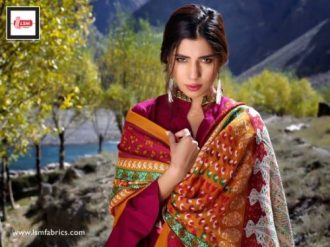 LSM Shawls Collection Winter Dresses 2016-17