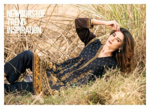 Winter Velvet Dresses Shalwar Kameez By Eshaeman 2017 9