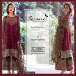 Royal Majestic Shalwar Kameez Collection By Serene 2017 6