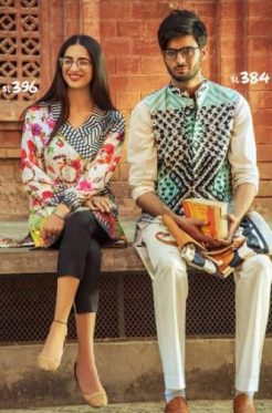 Casual Summer Colorful Collection Ideas By Gul Ahmed 2017 11