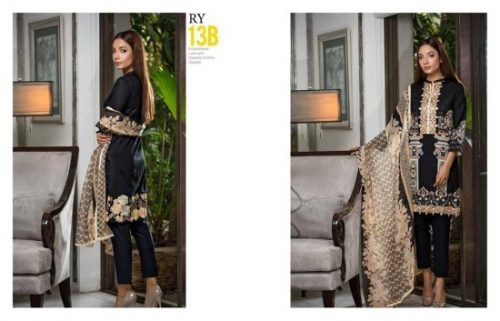 Charizma Luxury Summer Lawn Dresses Vol-2 2017