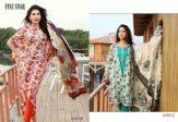 Classic Lawn Shalwar Kameez By Five Star Textiles 2017 7