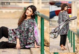 Classic Lawn Shalwar Kameez By Five Star Textiles 2017 8