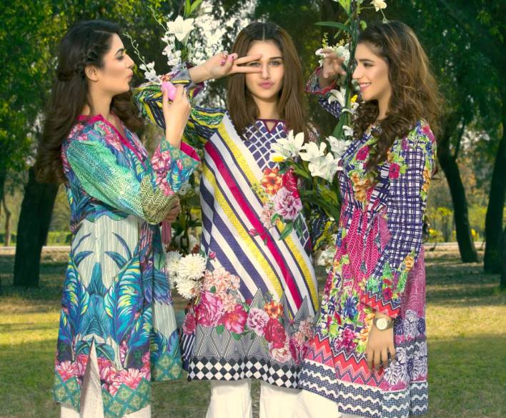 Digital Printed Stitched Tunics For Summer By Motfiz 2017