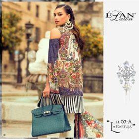 Elan Summer Lawn Shalwar Kameez Collection 2017 10