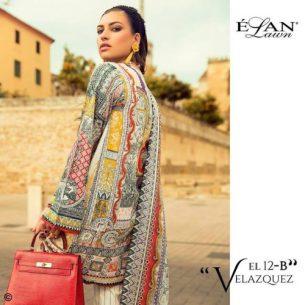 Elan Summer Lawn Shalwar Kameez Collection 2017 6
