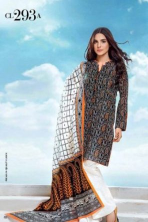 Gul Ahmed 3 Piece Summer Casual Lawn Vol-2 2017 6