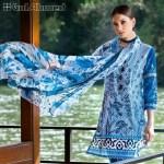 Gul Ahmed Silk Lawn Shalwar Kameez Dresses 2017