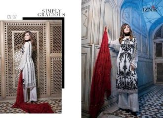 Iznik Summer Fancy Dresses Collection 2017 4