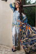Luxury Marjaan Lawn Shalwar Kameez Vol-1 2017 3