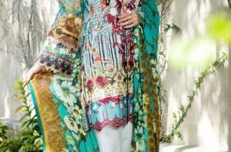 Luxury Marjaan Lawn Shalwar Kameez Vol-1 2017