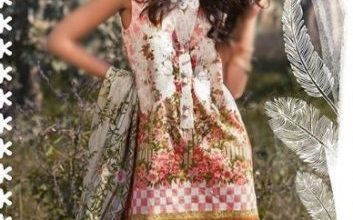 Sapphire Unstitched Summer Lawn Dresses 2017