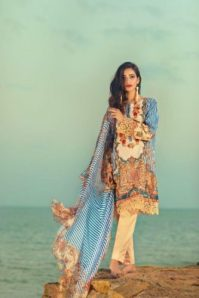 Threads and Motifs Summer Lawn Collection 2017 2