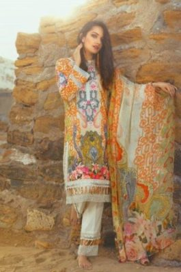 Threads and Motifs Summer Lawn Collection 2017 7