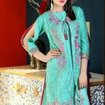 Zara Batool Luxury Embroidered Lawn Summer Dresses 2017 4