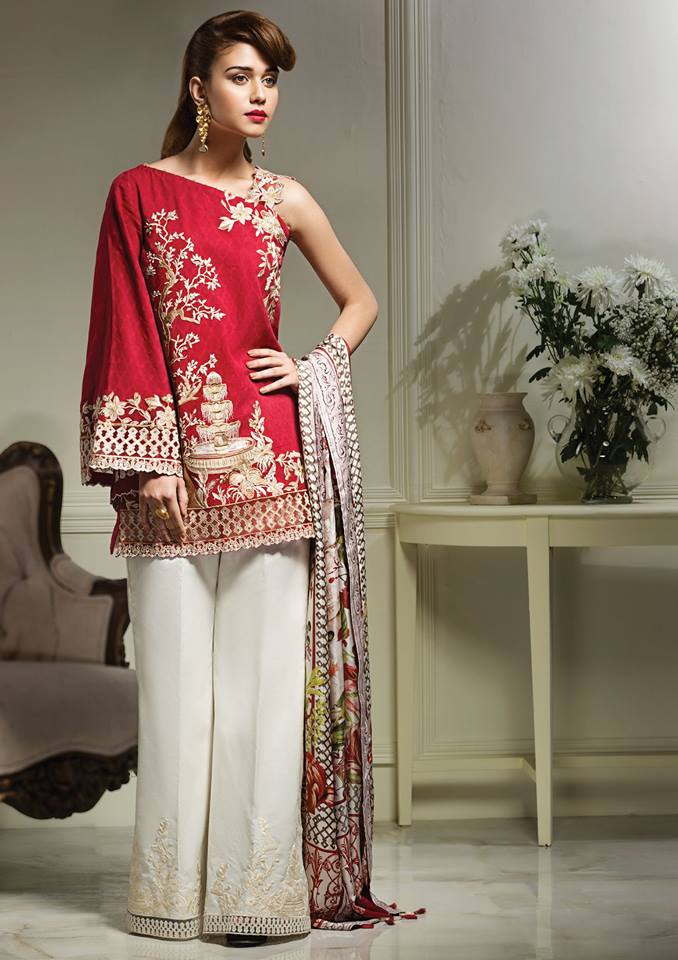 Anaya Eid Luxury Lawn Modern Dresses Collection 2017