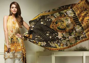 Anaya Eid Luxury Lawn Modern Dresses Collection 2017 3