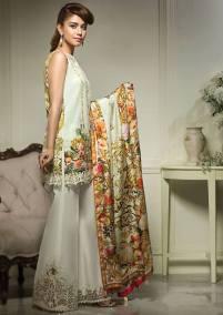 Anaya Eid Luxury Lawn Modern Dresses Collection 2017 4