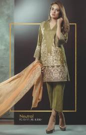 Eid Festive Wear Luxury Collection By AlKaram 2017 13