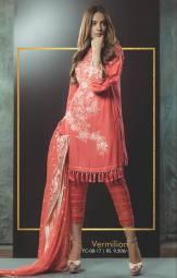 Eid Festive Wear Luxury Collection By AlKaram 2017 8